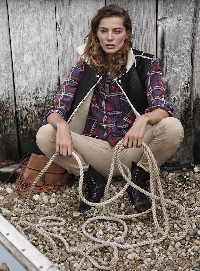 MANGO Fall 2014 Catalogue feat. Daria Werbowy_14