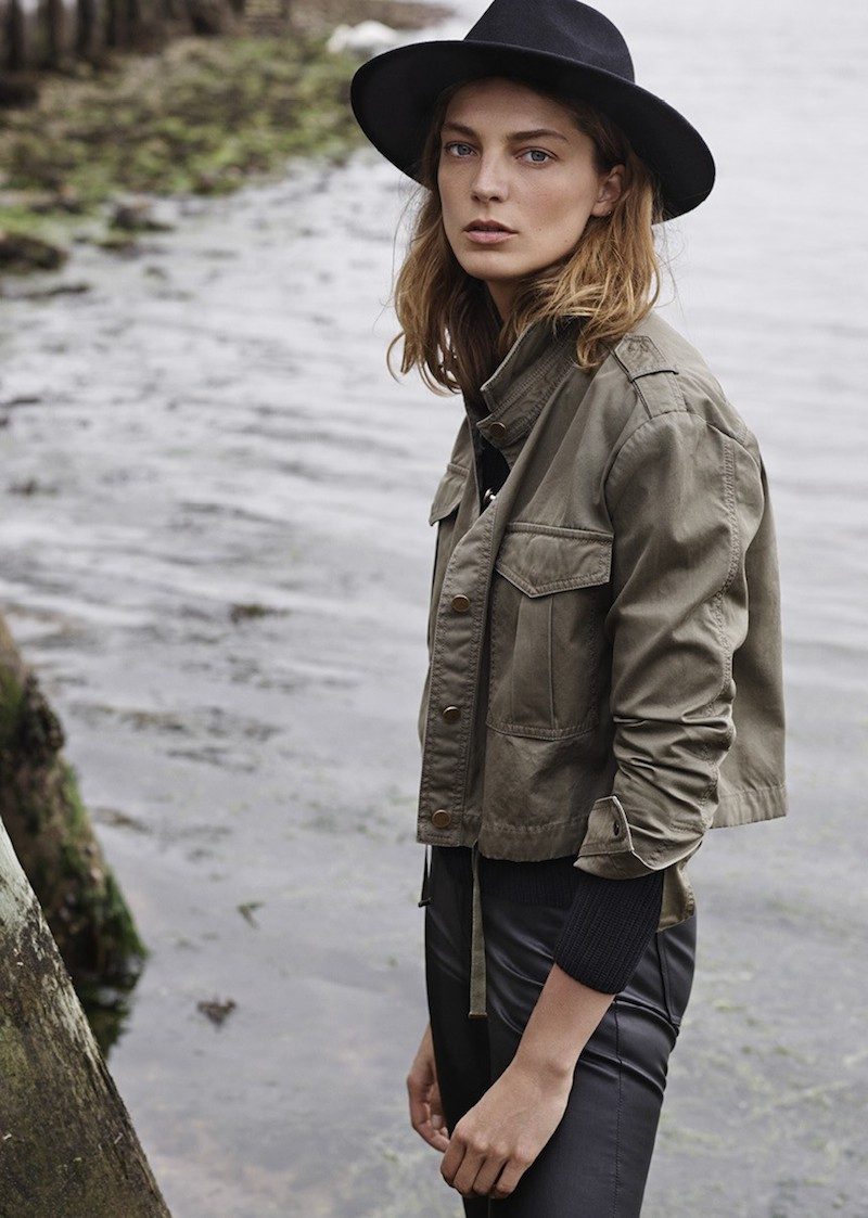 MANGO Fall 2014 Catalogue feat. Daria Werbowy_15