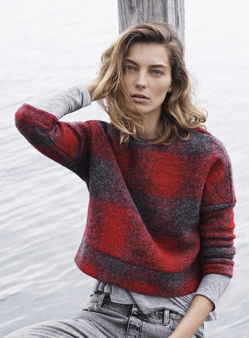 MANGO Fall 2014 Catalogue feat. Daria Werbowy_17