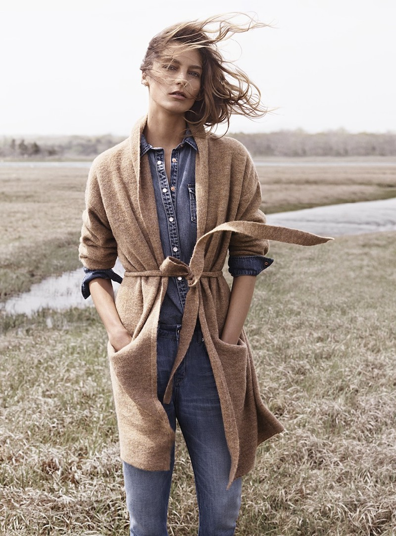 MANGO Fall 2014 Catalogue feat. Daria Werbowy_3