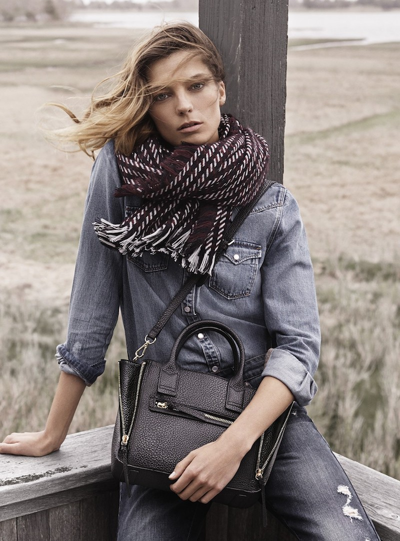 MANGO Fall 2014 Catalogue feat. Daria Werbowy_5
