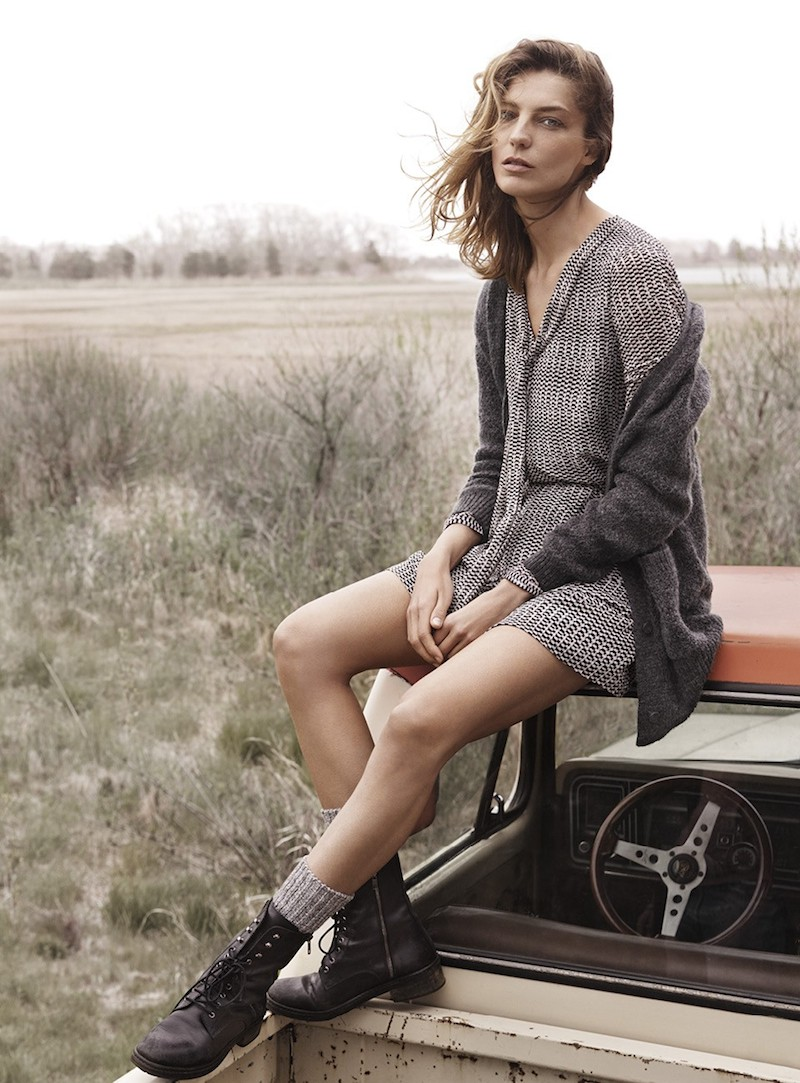 MANGO Fall 2014 Catalogue feat. Daria Werbowy_6