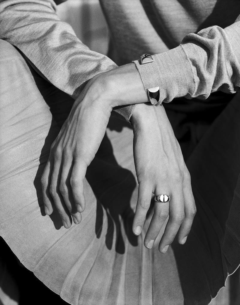 Maison Martin Margiela 'Héritage' Fine 'Chevalière' Ring and Bracelet