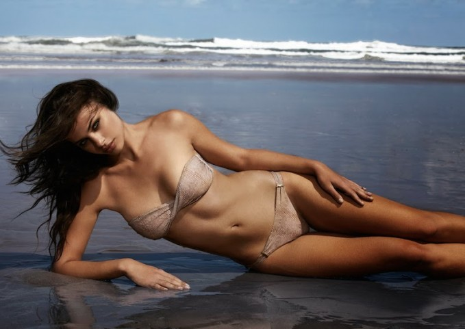 Melissa Odabash Croc Martinique Bandeau Bikini
