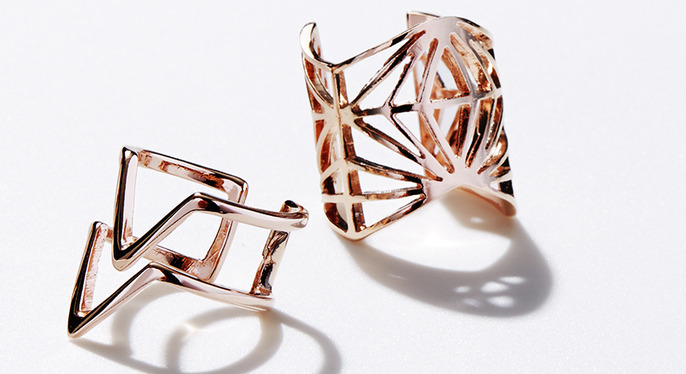 Minimalist-Chic Jewelry at Gilt