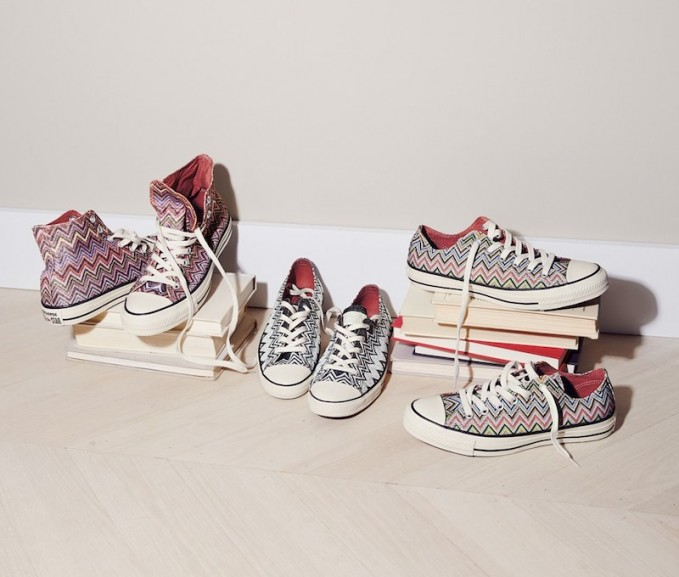Missoni x Converse Chuck Taylor All-Star Fall 2014 Collection