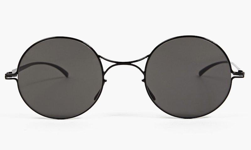 Mykita x Maison Martin Margiela Black Essential Sunglasses