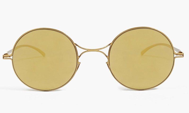 Mykita x Maison Martin Margiela Gold Essential Sunglasses_1