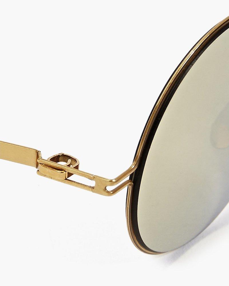 Mykita x Maison Martin Margiela Gold Essential Sunglasses_2