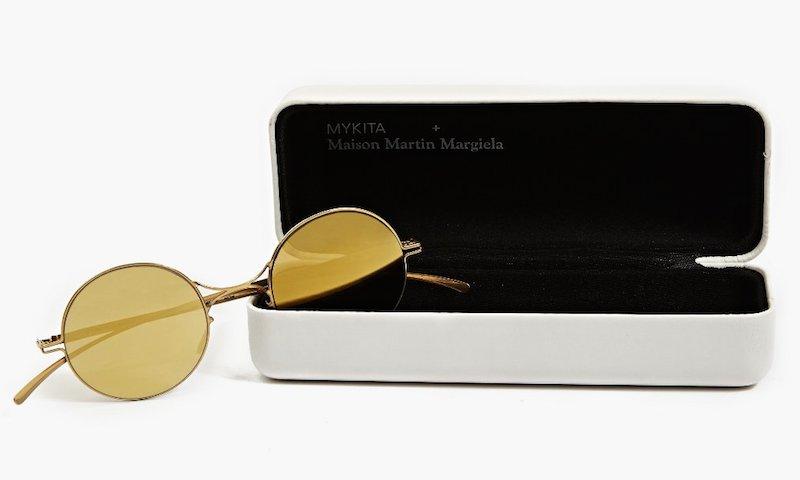 Mykita x Maison Martin Margiela Gold Essential Sunglasses_3