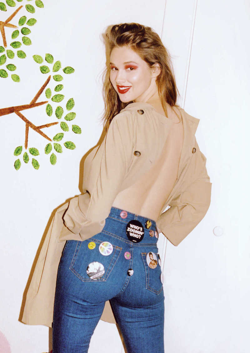 Nasty Gal Denim Lookbook feat. Anais Pouliot
