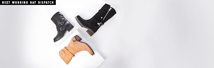 New Season Boots ft. Daniel Footwear at Brandalley