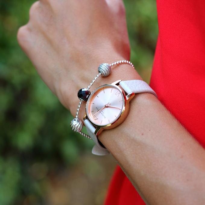 b7add68c3cf2 Olivia Burton OB13BD11 Big Dial Mink and Rose Gold Watch – NAWO