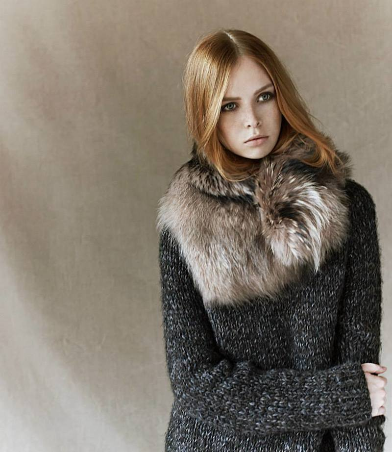 Pas de Calais Fur Wrap Collar