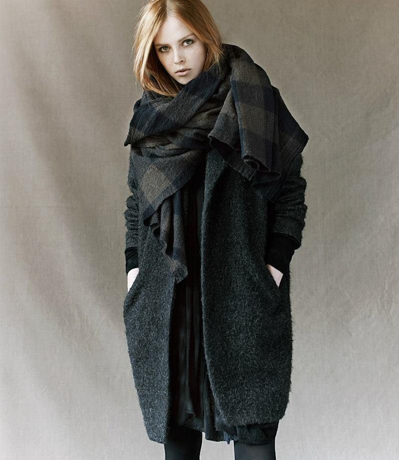 Pas de Calais Fuzzy Oversize Coat