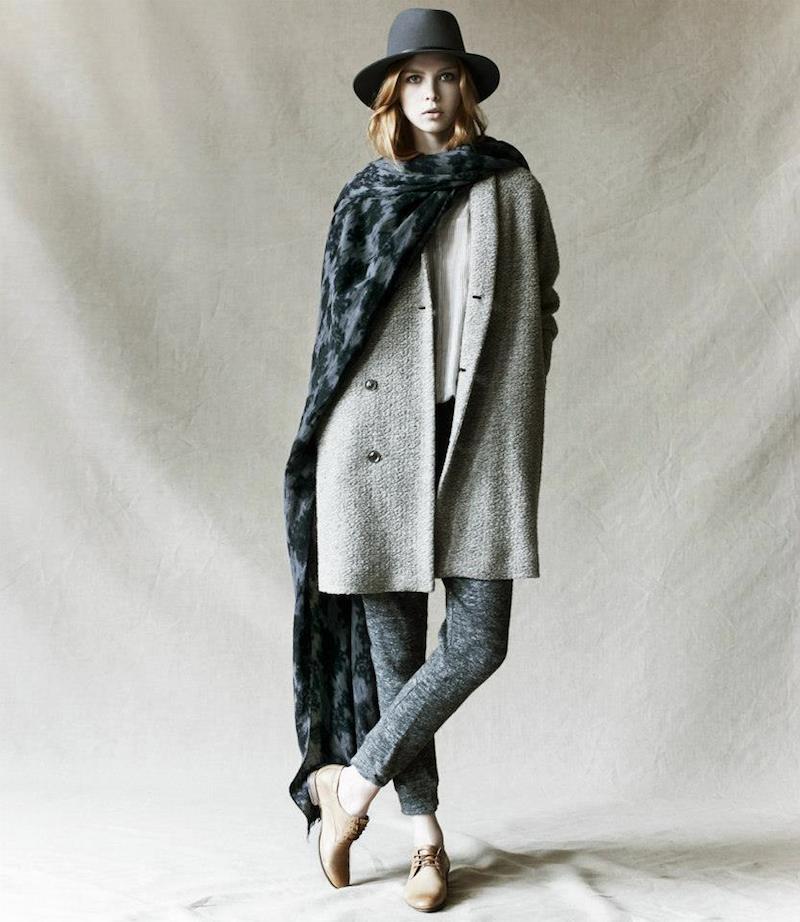 Pas de Calais Wool Cocoon Coat