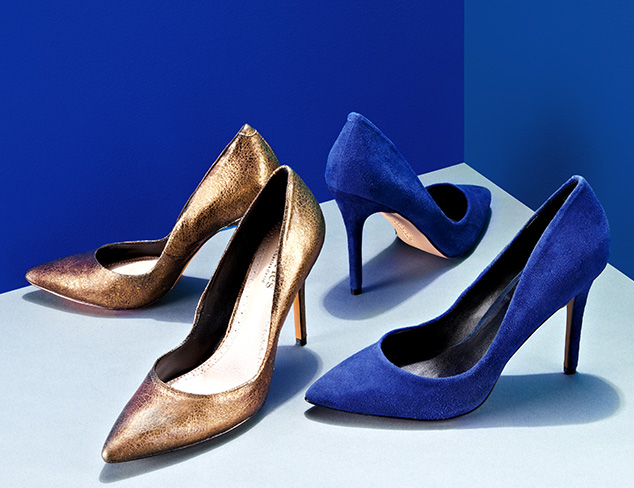 Pre-Fall Pumps: Burgundy, Navy & More at MYHABIT