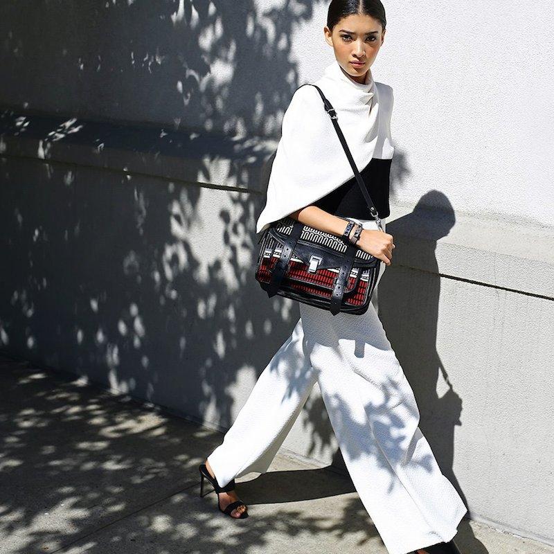Proenza Schouler PS1 Medium Baja Shoulder Bag