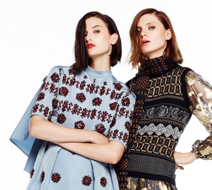 Saks Fifth Avenue Fall Fashion Vol 2: ART INTEREST & NEW MODERNISM