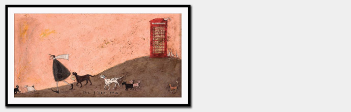 Sam Toft Wall Art at Brandalley