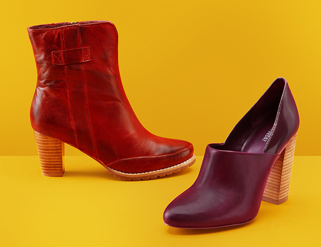 Shades of Fall: Shoes at MYHABIT