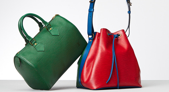 Spotlight On: Vintage Louis Vuitton Epi Handbags at Gilt