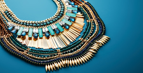 Statement Jewelry Feat. Sparkling Sage at Gilt