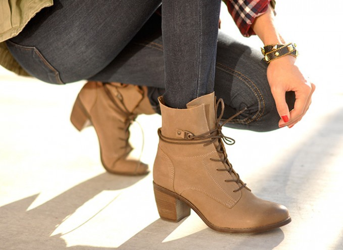 Steve Madden Rambow Lace-Up Bootie
