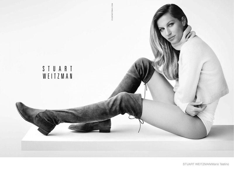 Stuart Weitzman Fall 2014 Campaign feat. Gisele Bündchen