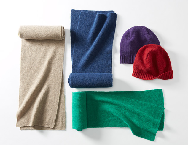 The Accessories Shop: Chic Cashmere at MYHABIT
