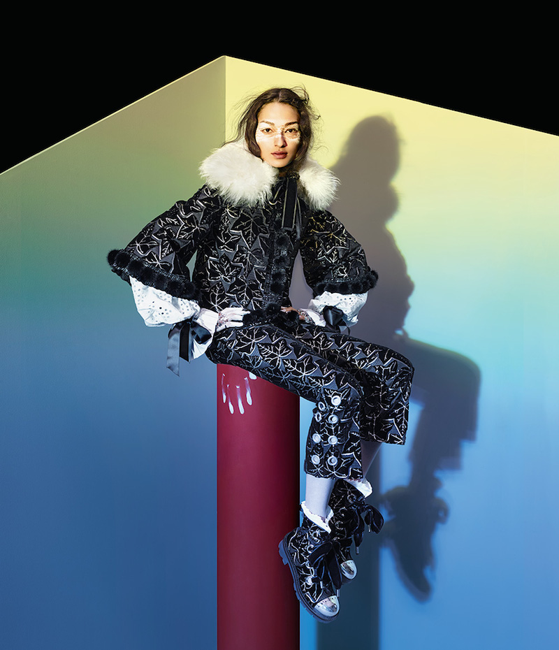 The Art of Fashion Fall 2014 by Neiman Marcus Featuring Alexander McQueen