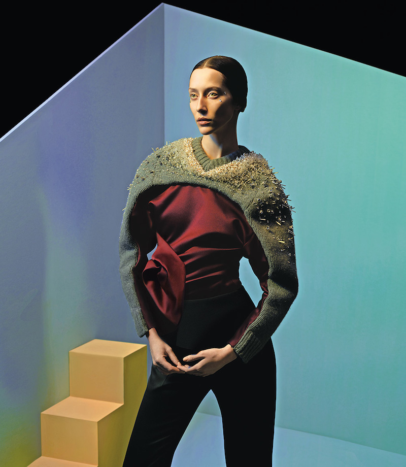 The Art of Fashion Fall 2014 by Neiman Marcus Featuring Balenciaga