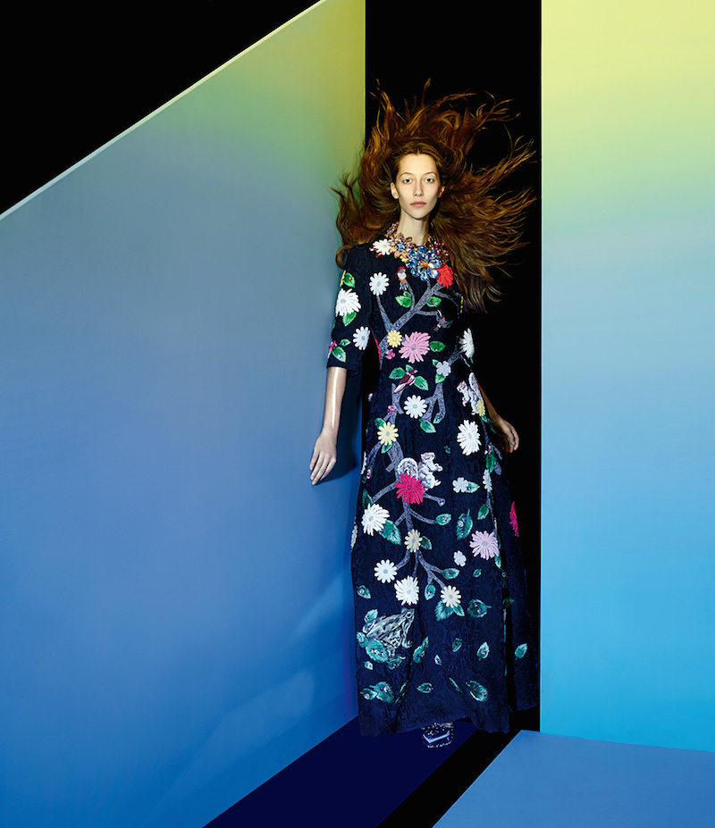 The Art of Fashion Fall 2014 by Neiman Marcus Featuring Dolce & Gabbana