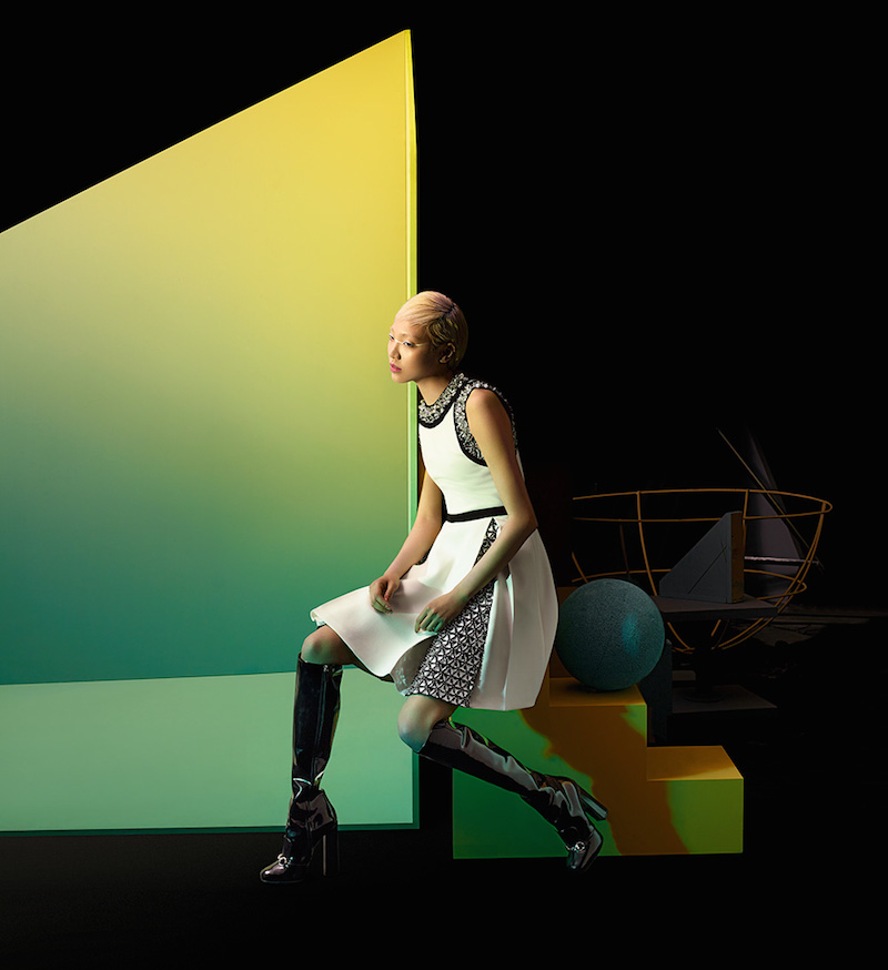 The Art of Fashion Fall 2014 by Neiman Marcus Featuring Gucci