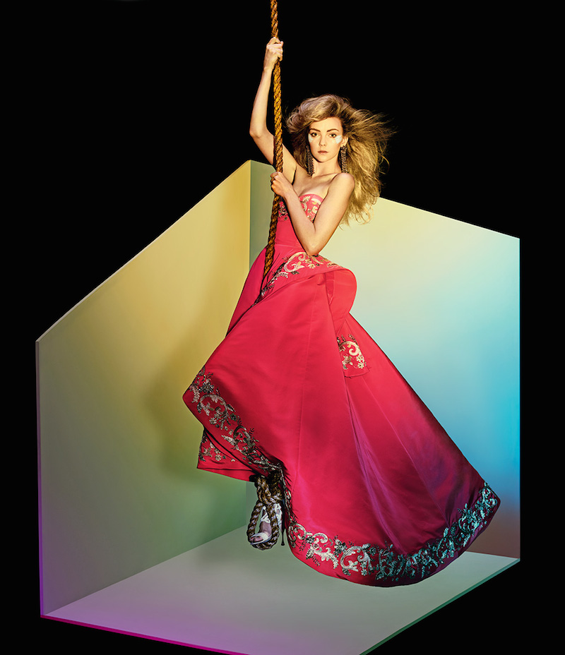 The Art of Fashion Fall 2014 by Neiman Marcus Featuring Oscar de la Renta