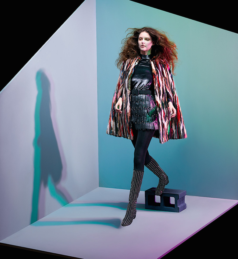 The Art of Fashion Fall 2014 by Neiman Marcus Featuring Saint Laurent