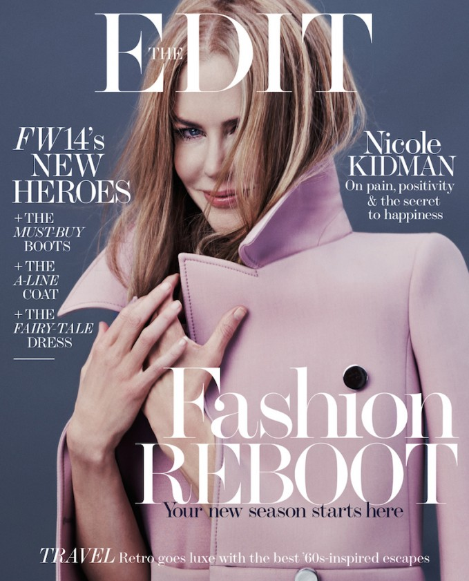 The Pursuit Of Happiness: Nicole Kidman for The EDIT