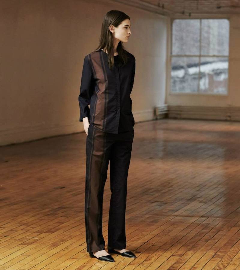The Row Pola Blouse & Dritter Pants