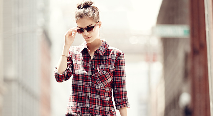 The Weekend Uniform: Button-Downs, Leggings & More at Gilt