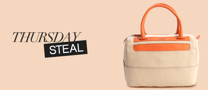 Thursday Steal: $140 Furla Bag at Belle & clive