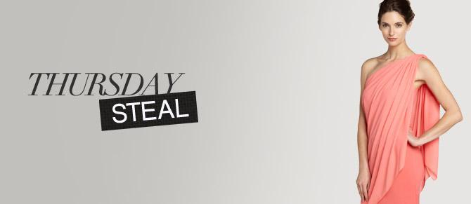 Thursday Steal: $59 One-Shoulder Dresses at Belle & Clive