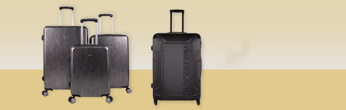 Timberland, William Hunt and Claiborne luggage at Brandalley