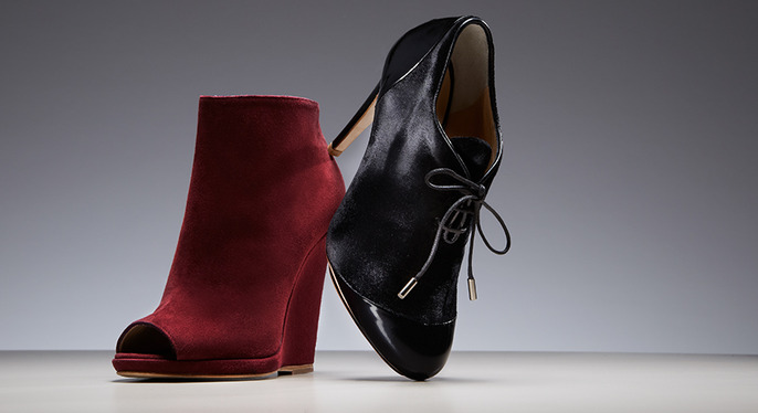 To the Nines: Dressed-Up Booties at Gilt