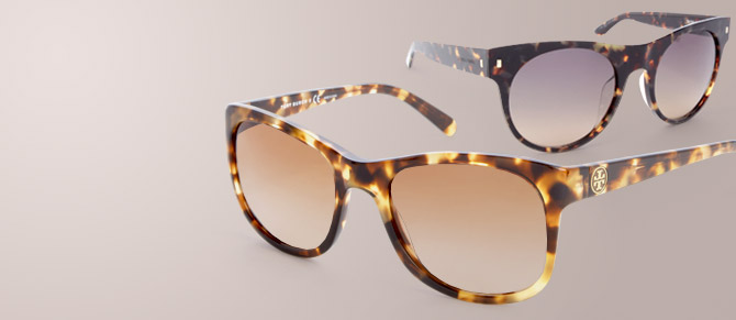 Tortoise Edition Sunglasses at Belle & Clive