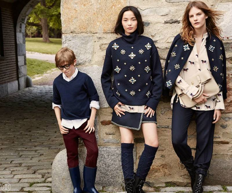Tory Burch Fall 2014 Lookbook