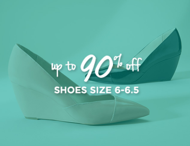 Up to 90% Off: Shoes Sizes 6-6.5 at MYHABIT