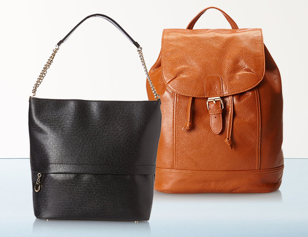 Updated Basics: Handbags & Backpacks at MYHABIT