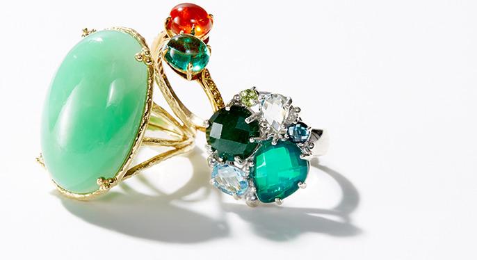 Vibrant Gemstone Jewelry at Gilt