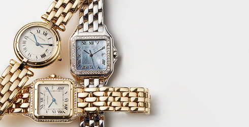 Vintage Cartier Watches at Gilt