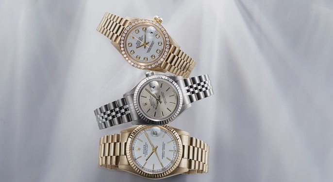 Vintage Watches Feat. Rolex at Gilt